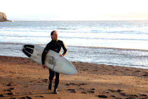 Dr. Brad Jacobs Surfing